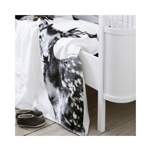 housse de couette cerf single sn. Black Bedroom Furniture Sets. Home Design Ideas